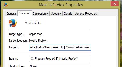 Delta-Home-FireFox